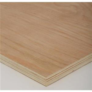 Top Choice 3/4 x 4-ft x 8-ft Red Oak Plywood
