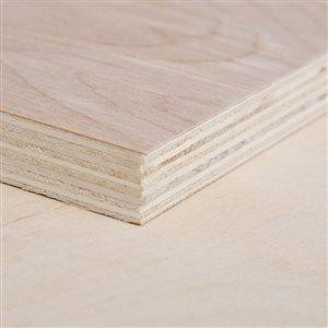 Top Choice 3/4 x 4-ft x 8-ft Birch Plywood