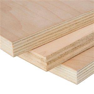 3/4 x 4-ft x 8-ft Maple Plywood