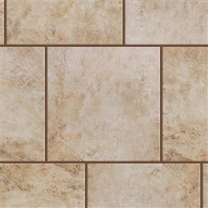 Style Selections 18-in x 18-in Mesa Beige Porcelain Floor and Wall Tile