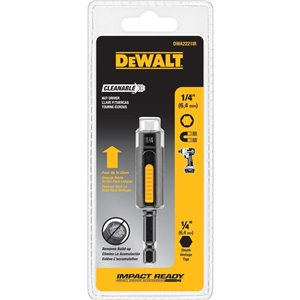 DEWALT 1/4-in Cleanable Nut Driver
