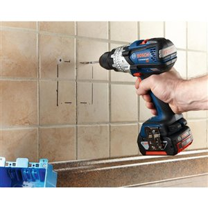 Bosch 4-Piece Glass and Tile Bit Set