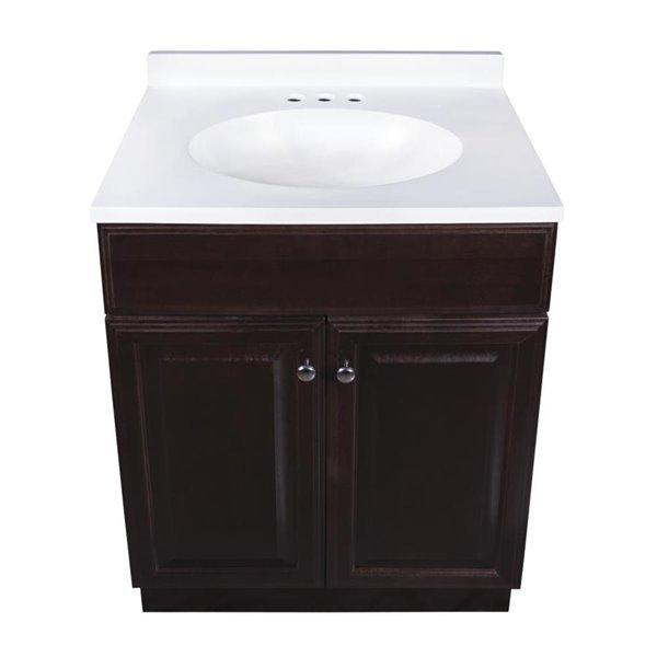 Single Sink Java Bathroom Vanity, Kent Building Supplies Bathroom Vanities