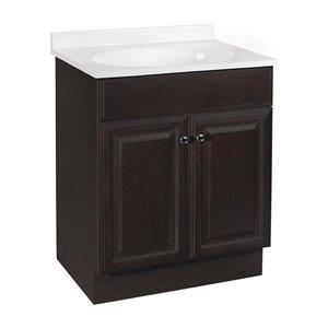 Project Source Richmond 24 In Single Sink Java Bathroom