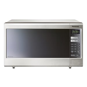 Panasonic Genius 1.2-cu ft 1200-Watt Countertop Microwave (Stainless Steel)