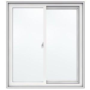 JELD-WEN 36-in x 40-in Low-E Double Pane Vinyl Sliding Window