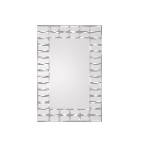 KingStar 24 in. x 36 in. Beveled Edge Mirror
