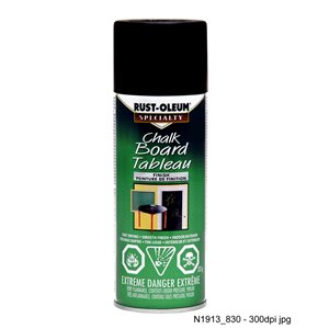 Rust-Oleum Chalk Board Tableau 312g Gloss Spray Paint