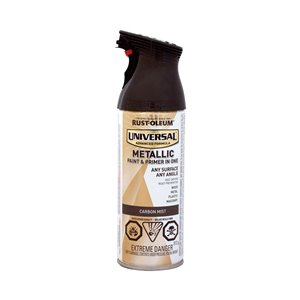 Rust-Oleum Universal 312g Metallic Gloss Paint and Primer Spray
