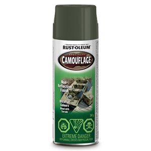 340g Specialty Camouflage Flat Spray Paint