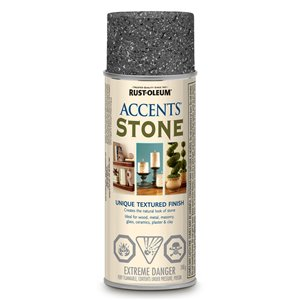 Rust-Oleum American Accents 340g Textured Grey Stone Spray Paint