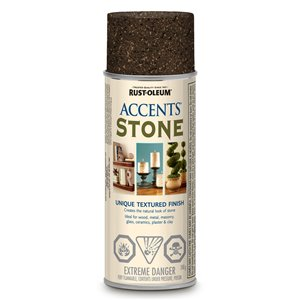 Rust-Oleum American Accents 340g Textured Mineral Brown Stone Spray Paint
