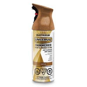 Rust-Oleum Universal 340g Hammered Copper All-Surface Spray Paint