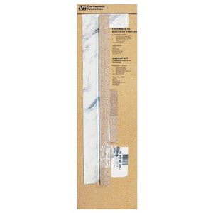 VTI Fine Laminate Countertops Calcutta Marble End Cap Kit