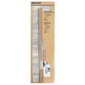 VTI Fine Laminate Countertops Travertine Silver End Cap Kit