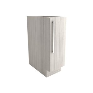 Cutler White Chocolate 12-in Single-Door Base Cabinet