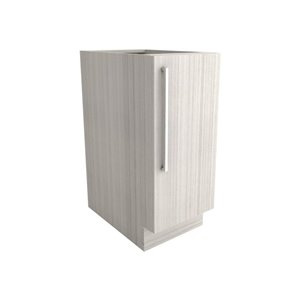 Cutler White Chocolate 15-in Single-Door Base Cabinet