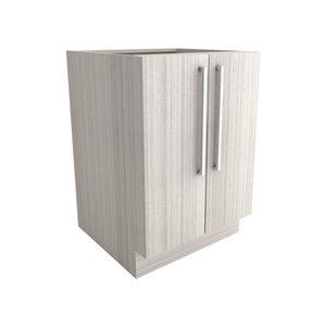 Cutler White Chocolate 24-in 2-Door Base Cabinet   Lowe's ...