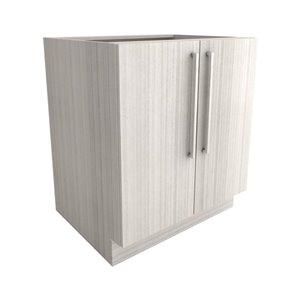 Cutler White Chocolate 30-in 2-Door Base Cabinet   Lowe's ...
