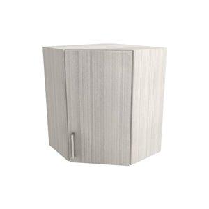 Cutler White Chocolate Single Door Upper Wall Cabinet