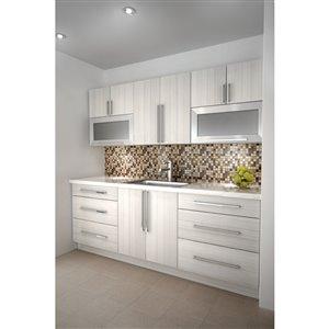 Cutler White Chocolate Single Door Upper Wall Cabinet ...