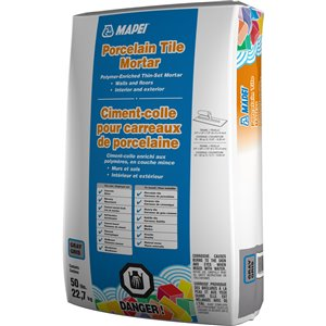 MAPEI Professional Porcelain Tile Mortar with Polymer