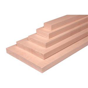 1-in x 3-in x 4-ft Maple Appearance Board