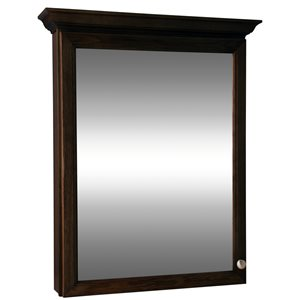 Style Selections Northrup 30-in Espresso Wall Cabinet
