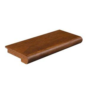 0.5-in x 2.75-in x 78-in Oak Stair Nose Floor Moulding