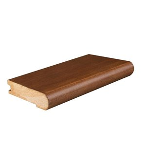 0.75-in x 2.75-in x 78-in Oak Stair Nose Floor Moulding