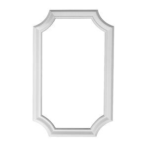 14-in x 1.92-ft Wainscot Panel Cap Wall Panel Moulding