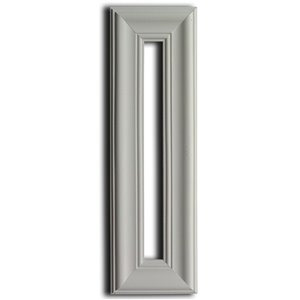 7-in x 23-in Whtie Wall Panel Frame