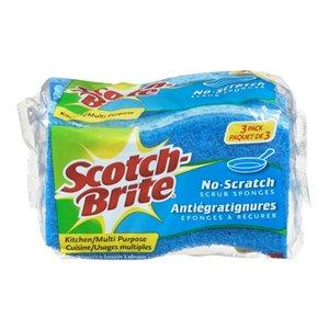 3M 3-Pack No-Scratch Scrub Sponge