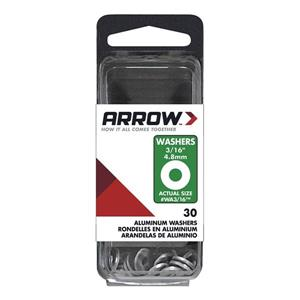 3/16-in Aluminum Rivet Washers (30-Pack)