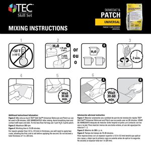 TEC 7-lbs Universal Skimcoat and Patch