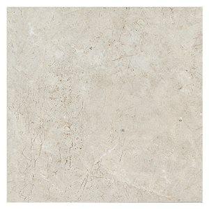 American Olean 12-in x 12-in Bellizzi Bruma Gray Glazed Porcelain Floor Tile