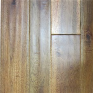natural floors 3/4-in Thick Amber Acacia Solid Hardwood Flooring (Variable Wide x Various Lengths)