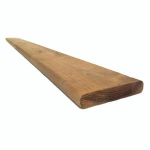 Taiga Building Products 5/4 x 6 x 8-ft Brown Pressure Treated Deck Board
