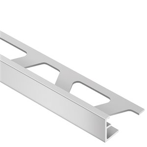 Schluter Systems 1/2-in Satin Silver Aluminum Tile Edge Trim