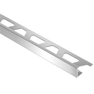 Schluter Systems 3/8-in Chrome Aluminum Tile Edge Trim