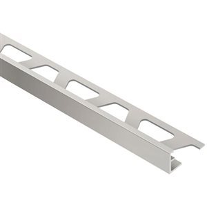 Schluter Systems 5/16-in Satin Nickel Aluminum Trim
