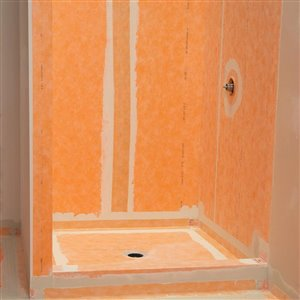 Schluter Systems 3-ft 3-in x 16-ft 5-in Tile Waterproofing ...