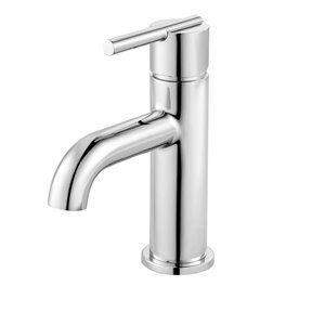 Pfister Fullerton Polished Chrome 1-Handle Single Hole 4-in Centerset WaterSense Bathroom Sink Faucet with Drain (Valve Included)