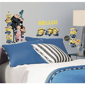 RoomMates Despicable Me 2 Peel-and-Stick Wall Decals (31-Pack)