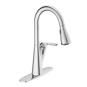 Moen Harlon One Handle Pull Down Kitchen Faucet Lowe S Canada