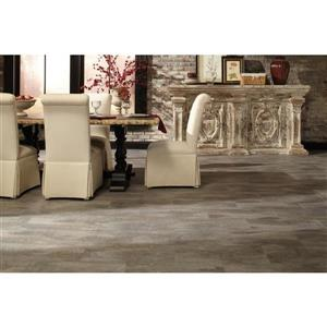 STAINMASTER 12-in x 24-in Evening Shadow Floating Vinyl Tile