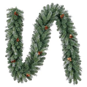 Holiday Living 9 Ft. x 10 In. Madison Pine Garland