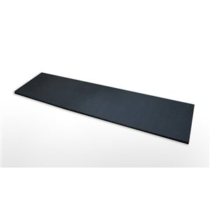 Secure Step Black Rectangular Stair Tread Mat (Common: 10-in x 36-in; Actual:10-in x 36-in)