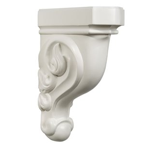 White Painted Corbel