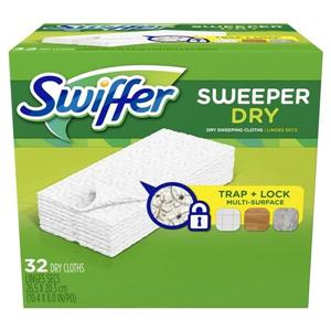 32-Count Sweeper Dry Cloth Refills